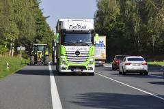 Provoz na silnici I/3 okolo Benešova byl opravdu hustý