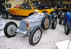 Bugatti 51 českého závodníka Jiřího K.Lobkowicze (čtvrtý vBrně 1931)