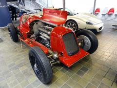 Maserati 6C34 italského závodníka Tazia Nuvolariho (třetí vBrně 1934)