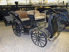 Vzácný exponát NW Präsident zKopřivnice, první český automobil (1897)