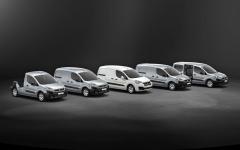 Řada Berlingo/Partner nabízí pět základních verzí vozidla