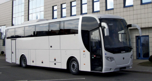 Bezbariérový bus Scania OmniExpress 360 na podvozku K410 EB4x2NI