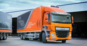 DAF CF smotorem PX 7 (6,7l) je důkazem, že kefektivnímu provozu těžkého nákladního vozidla stačí jen malý motor, který je zhlediska zdvihového objemu cca polovinou toho  obvyklého – velkého šestiválce  MX-11 či MX-13.