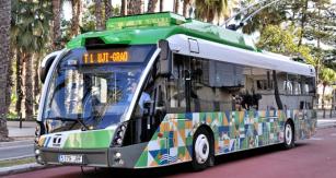 Trolejbus Trollino již ve Španělsku