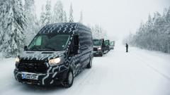 Vtestech najezdily prototypy Fordu Transit ekvivalent více než 11 milionů kilometrů.