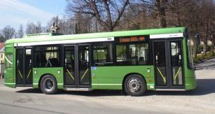 Klasický design autobusu Heuliez