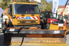 Vozidlo Eurotrakker smotorem Cursor již zajišťuje zimní údržbu 10 let