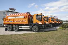 Vozy Iveco Trakker sposypovými nástavbami