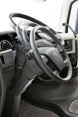 Volant je všestranně seřiditelný vdostatečném rozsahu