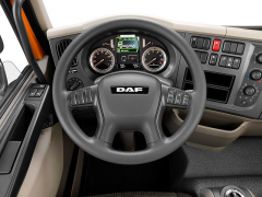Na displeji DAF LF 2016 Edition je zobrazováno nyní více informací i o vozidle