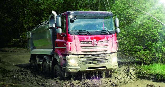 Sklopka – to je to, proč vozy Tatra vůbec vznikly – proto je všichni milujeme. Sklápěcí nástavba je ten nejdůležitější základ civilních vozidel Tatra.
