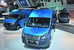 Vroce 2015 byla naautomobilový trh uvedena skříňová verze dodávkových vozů GAZelle NEXT.