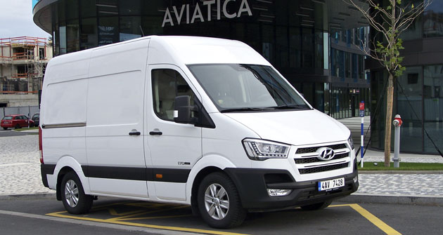 Novinka na trhu kategorie LUV, Hyundai H350