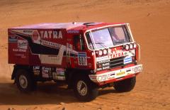 První vítězství vnejtěžší soutěži světa, Rallye Dakar, přišlo vroce 1988. Zavolantem byl dnes legendární Karel Loprais.
