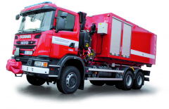 Vozidla Scania G 440 CB 6x6 HHZ sdvojitým, zesíleným rámem.
