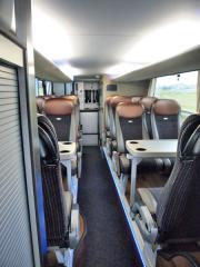 Horní sekce autobusu