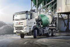 Tatra Phoenix Euro 6, 6x6 s nástavbou domíchávače betonu