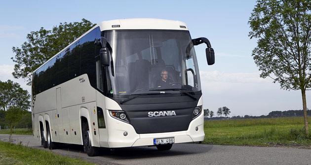 Autobus pro dálkové jízdy Scania Touring
