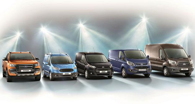 Řada užitkových automobilů Ford
