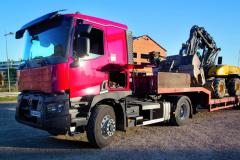 """""""Pořízení tahače Renault Trucks C se systémem Optitrack byla velmi dobrá volba,"""" říká Christian Vinet."""
