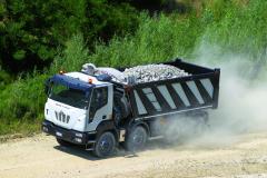 Astra HD9 těžké stavební vozidlo znabídky koncernu Iveco.