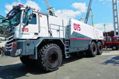 Společnost Rosenbauer nabízí celou řadu velkých speciálů GLTF.