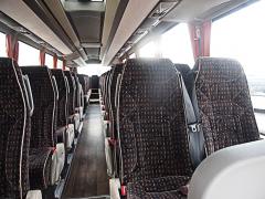 Pohodlný interiér pro pohodlné cestování