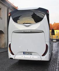 Zadní partie autobusu