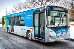 Dvoudveřový e-bus BYD se testoval i v Ostravě