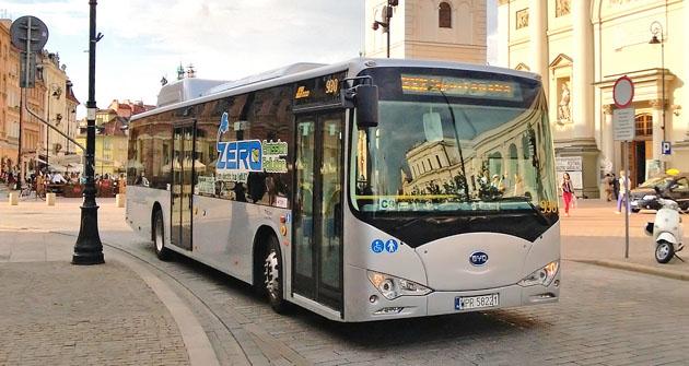 Čínský elektrobus BYD K9