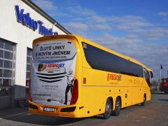 Autobusy již nesou označení RegioJet