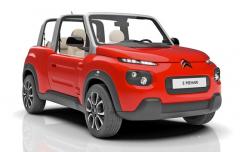 Automobil E Mehari s elektrickým pohonem