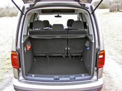 vw-caddy - Pět solidních míst avelký zavazadlový prostor, toje Caddy
