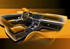 Modernizovaný pick-up Amarok (studie) je díky novému interiéru ještě atraktivnější i pro dosavadní majitele vozů SUV