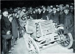 Vroce 1902 vedl René de Knyff poprvních dvou etapách třetí ročník závodu oGordon-Benettův pohár.