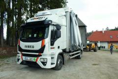 Prevoz vozidlom Iveco Eurocargo zaisťovala spo- ločnosť Commet Plus s.r.o.