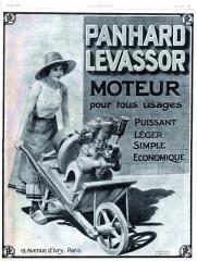 Automobilka Panhard et Levassor začala slicenční výrobou dvouválců Daimler, ale záhy pokračovala stavbou motorů vlastních.