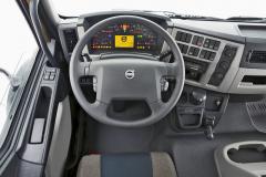 Navýsost praktické řešení pracoviště řidiče je ergonomicky bezchybné