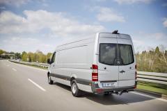Extra dlouhý Sprinter van 314 CDI nabízí objem až 17 m3