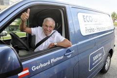 Gerhard Plattner startoval zPrahy 7. června 2016