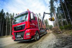 Dřevařský a lesnický průmysl je pro finální výrobce těžkých nákladních vozidel velmi zajímavý segment.