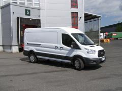 Ford Transit Van AWD se uplatní vlogistice hlavně vhorských oblastech