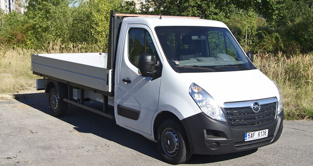 Opel Movano 2.3 CDTI valník L2H1