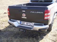 fiat-Fullback zvládne bržděný přívěs o celkové hmotnosti až 3000 kg