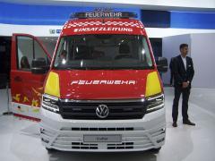 VW Crafter pro hasičský sbor