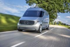 Vision Van při zkušební jízdě