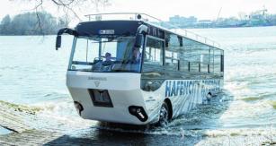 Swimbus zHamburku využívá podvozkových skupin odspolečnosti MAN.