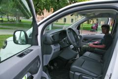 Interiér vozu nabízí to, co zákazník očekává umodelu určenému především pro práci.