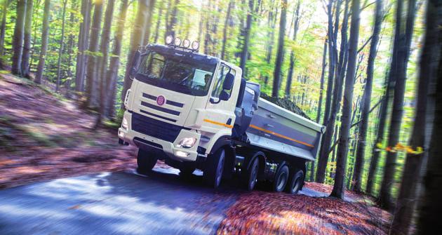 Tatra Phoenix Euro 6 využívá důsledně podvozek tzv. typové řady I.