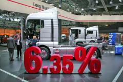 VHannoveri naIAA 2016 bolo slávnostne potvrdené, že MAN TGX EfficientLine 3 je ocelých 6,35% úspornejší, čo sa týka spotreby paliva, než jeho predchodca MAN TGX EfficientLine 2.
